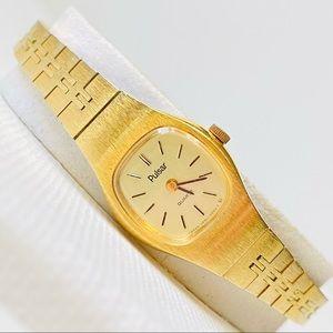 Vintage Pulsar by Seiko Women's Gold Watch